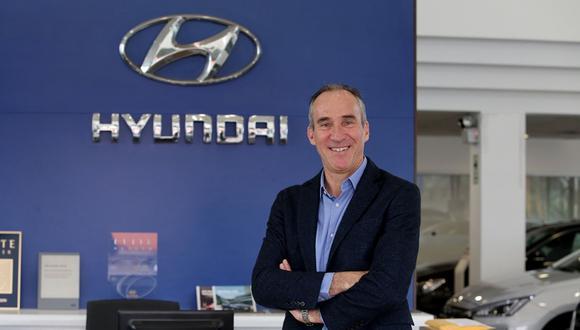 Claudio Ortiz, Gerente de Negocios de Hyundai anunció la renovación completa del line up de la marca surcoreana.