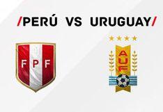 Perú vs. Uruguay: dónde juegan y cómo ver el partido amistoso internacional en Lima por fecha FIFA