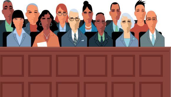 Estados Unidos el país que le otorga máxima relevancia a los jurados populares. (Vía Reuters)