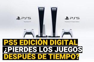 PlayStation 5 Digital: ¿Tendrán disponibilidad limitada los juegos digitales comprados?