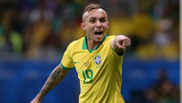 Everton se perfila para ser titular en Brasil ante Perú. (Foto: Reuters)