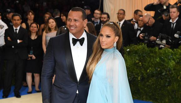 Jennifer Lopez y Alex Rodríguez estaban comprometido en matrimonio, pero el amor llegó a su fin.  (Foto: AFP)