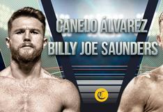 Canelo vs. Saunders en vivo: a qué hora pelean y en qué canales ver el combate de boxeo