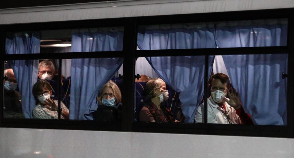 Según los datos actualizados, del total de casos del coronavirus, además de los 36 que estuvieron a bordo del Diamond Princess, otros 3 fueron también repatriadas pero en este caso desde la provincia china de Wuhan. (AFP).