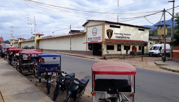 Los internos fugaron esta madrugada, a las 2:50 a.m., del penal de Tarapoto. (Foto: Hugo Anteparra)