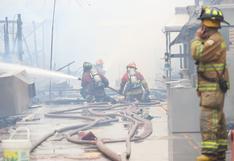 Incendios en Lima y Callao aumentaron por uso de pirotécnicos durante celebración de Año Nuevo