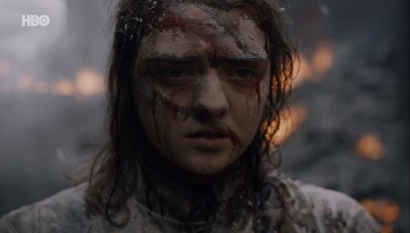 Arya Stark no perdonará lo que ocurrió en King's Landing (Foto: Game of Thrones / HBO)