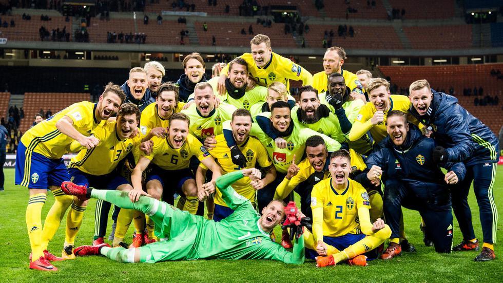El equipo de Suecia, contando sus 23 jugadores, alcanza un valor US$140 millones, según el portal Trasnfermarkt. Un precio que supera es más de tres veces a la selección peruana (US$44,30 millones). Cabe resaltar que Suecia se clasificó a Rusia 2018 luego de eliminar en la etapa de repechaje a Italia. (Foto: Agencias)
