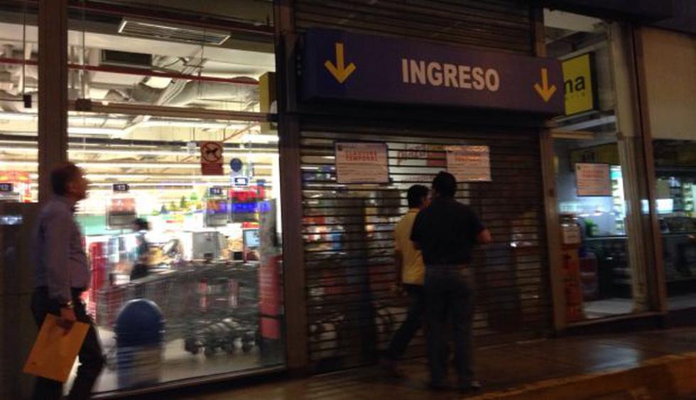 Plaza Vea de Jesús María fue clausurado por medidas sanitarias - 1