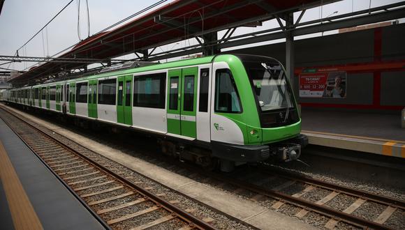 Metro de Lima. (Foto: Archivo El Comercio)
