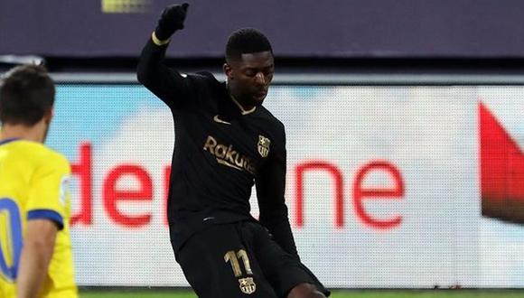 Ousmane Dembélé ha participado en 8 partidos de Barcelona en la presente edición de LaLiga. (Foto: FC Barcelona)