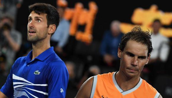 Novak Djokovic recibe críticas de Rafael Nadal y Roger Federer (Foto: AFP)
