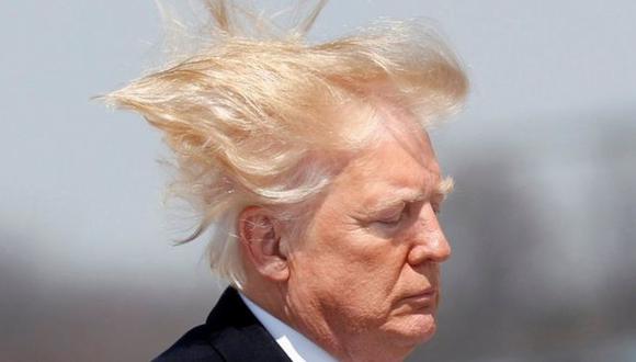 """Trump dijo que su cabello tiene que estar """"perfecto"""". (Reuters)."""