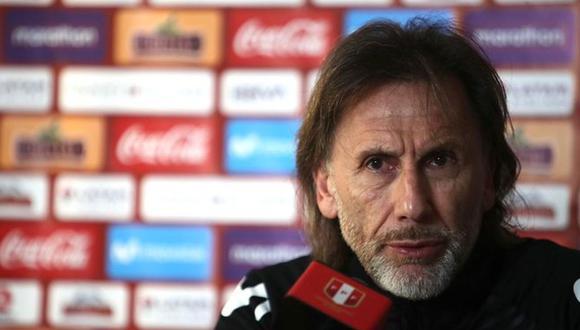 """Ricardo Gareca sobre Lapadula: """"La selección peruana está abierta para quien quiera estar"""". (Foto: FPF)"""