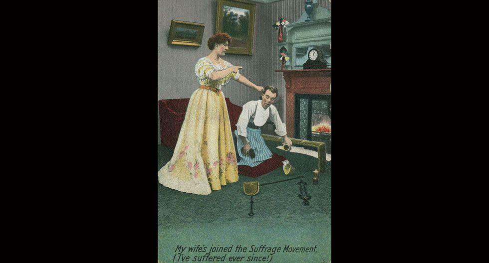 Estos afiches de 1920 contra la mujer indignarán a cualquiera - 8