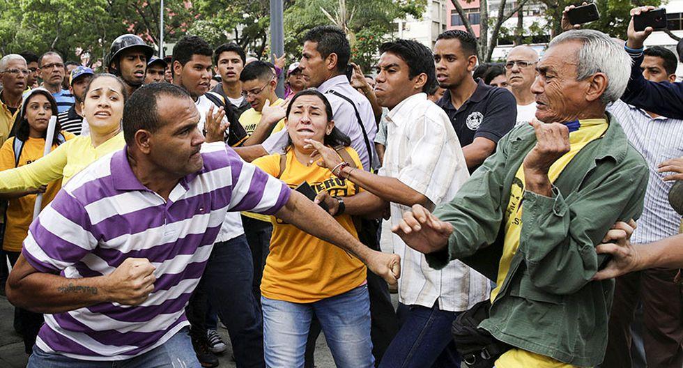 Venezuela: Estudiantes y periodistas se enfrentan a la policía - 14