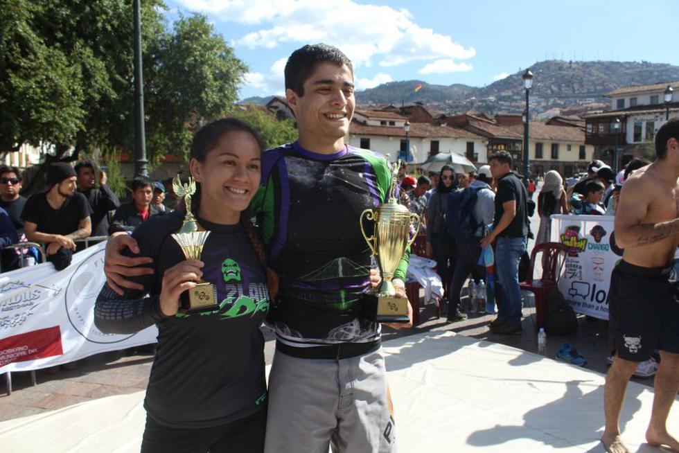 Cusco: luchadores de jiu jitsu tomaron la plaza mayor [FOTOS] - 12