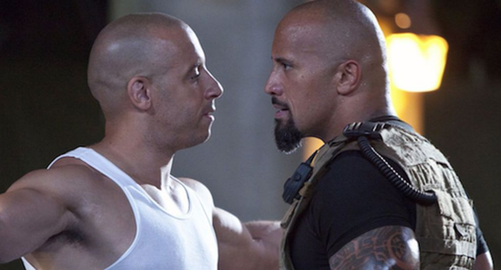 El caso de Vin Diesel y Dwayne Johnson es uno de los más emblemáticos de esta lista (Foto: Universal Pictures)