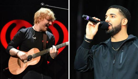 Ed Sheeran espera colaborar con Drake en algún proyecto (Foto: AFP)