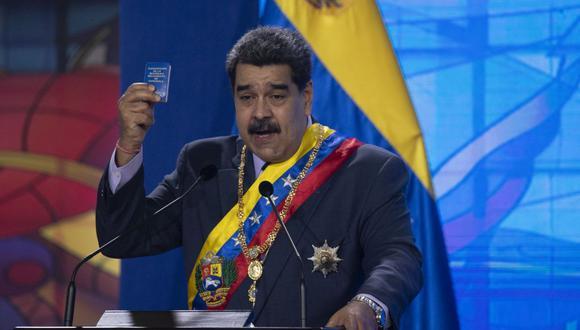 El presidente de Venezuela, Nicolás Maduro. (Foto: Yuri Cortez | AFP).