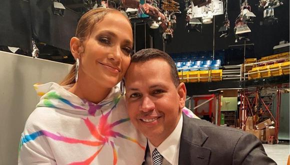 Jennifer Lopez y Alex Rodríguez se suman a divertido reto viral en Tik Tok  (Foto: Instagram)