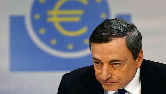 """BCE: """"Se comprará deuda contra baja inflación si es necesario"""""""
