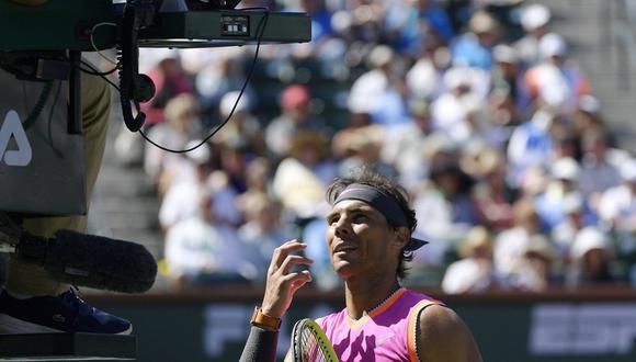 Rafael Nadal, leyenda del tenis español. (Foto: AP)