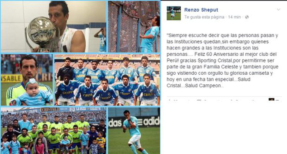 Renzo Sheput y el emotivo saludo a Cristal por su aniversario - 1