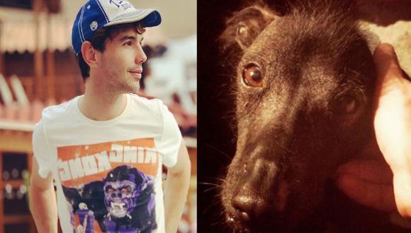Bruno Pinasco se despide de su mascota. (Foto: Instagram)