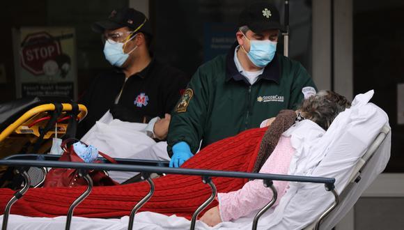 Coronavirus en New York | Ultimas noticias | Último minuto: reporte de infectados y muertos lunes 20 de abril del 2020 | Covid-19 | (Foto: Spencer Platt/Getty Images/AFP).