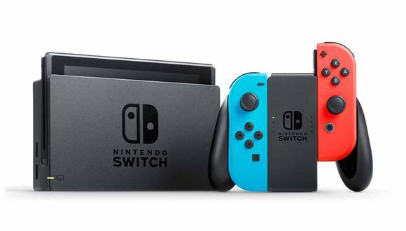 La Nintendo Switch salió a la venta en 2017. (Imagen: Nintendo)