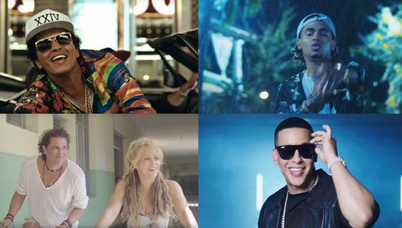 Las 10 canciones que más sonaron en el año 2016 [VIDEOS]