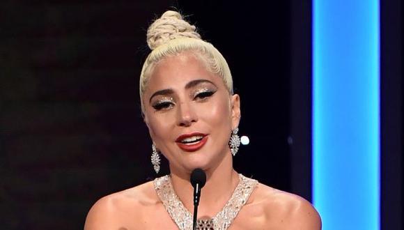 Cantante estadounidense Lady Gaga. (Foto: Agencia)