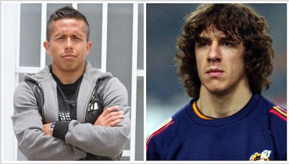 Roberto Merino reveló una anécdota que tuvo con Carles Puyol. (Foto: GEC / AFP)