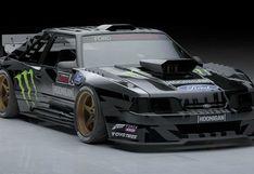 Ford Mustang Fox-Body: el nuevo deportivo de Ken Block para la competencia   FOTOS