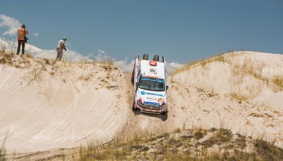 Fernando Ferrand quiere culminar un nuevo Dakar junto a su padre. (Foto: ITEA Photo)