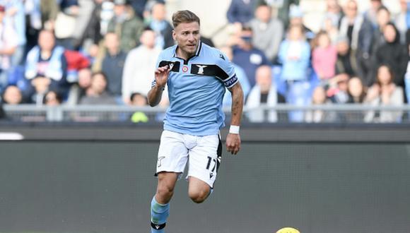 Immobile juega en la Lazio desde el 2016. (Foto: Getty Images)