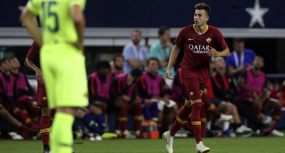 Barcelona cayó 4-2 ante Roma por la International Champions Cup. (Foto: AFP)