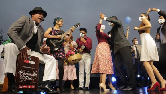 """Evento cultural al aire libre """"Serenata al Bicentenario del Perú"""" llegó a San Isidro. (Foto: Muni San isidro)"""
