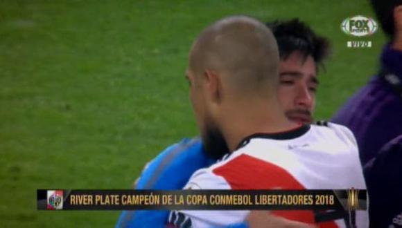 Pablo Pérez fue uno de los más afectado por la derrota de Boca Juniors. (Foto: Captura).