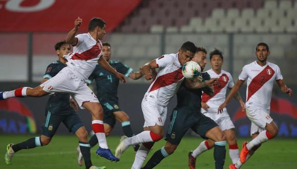 Perú vs Argentina, por la fecha 4 de Eliminatorias Qatar 2022. (Foto: GEC),