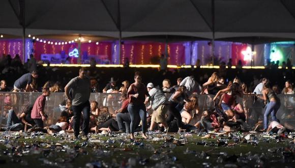El pasado lunes 2 Stephen Paddock abrió fuego sobre los más de 22.000 asistentes al festival de música de Las Vegas. [Foto: AFP]
