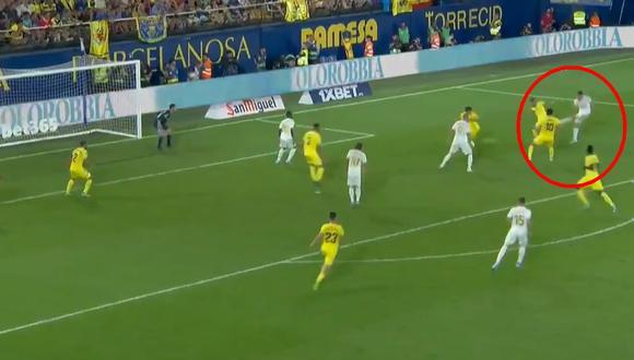 Real Madrid vs. Villarreal EN VIVO: Gareth Bale marcó golazo para el empate 2-2 en La Cerámica   VIDEO. (Video: YouTube / Foto: Captura de pantalla)