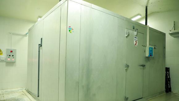 Las cámaras pueden conservar conjuntamente más de 50 mil vacunas. (Foto: Gore Huánuco)