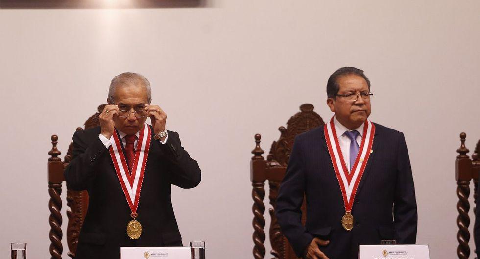 Pablo Sánchez aseguró que, de haber conocido todos los audios sobre Pedro Chávarry, no hubiera asistido a su juramentación. (Foto: GEC)