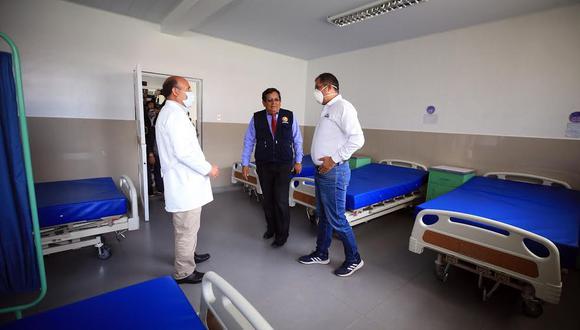 El octogenario se recuperó en las instalaciones del Hospital Víctor Ramos Guardia de Huaraz. (Foto referencial: Gobierno Regional de Áncash).