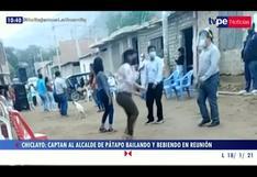 Lambayeque: captan al alcalde de Pátapo bailando y bebiendo en reunión social