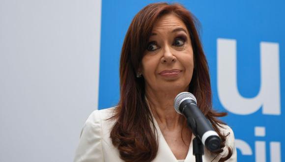 """Cristina Kirchner dice que pedido de desafuero es una """"agresión judicial"""" a la democracia (Foto: AFP)"""