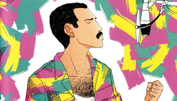 Freddie Mercury, el vocalista de Queen, revive en el libro ilustrado por Alfonso Casas.