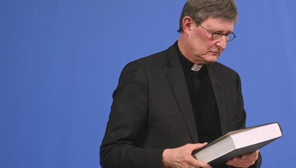 El arzobispo alemán Rainer Maria Woelki. AP
